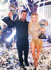 Alfonso Ribeiro and Witney Carson