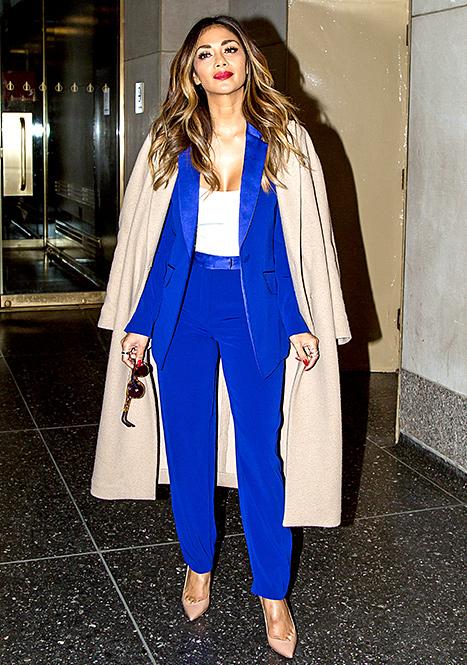 Nicole Scherzinger - Camel Coat