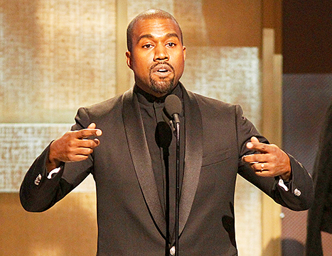Kanye West BET Honors