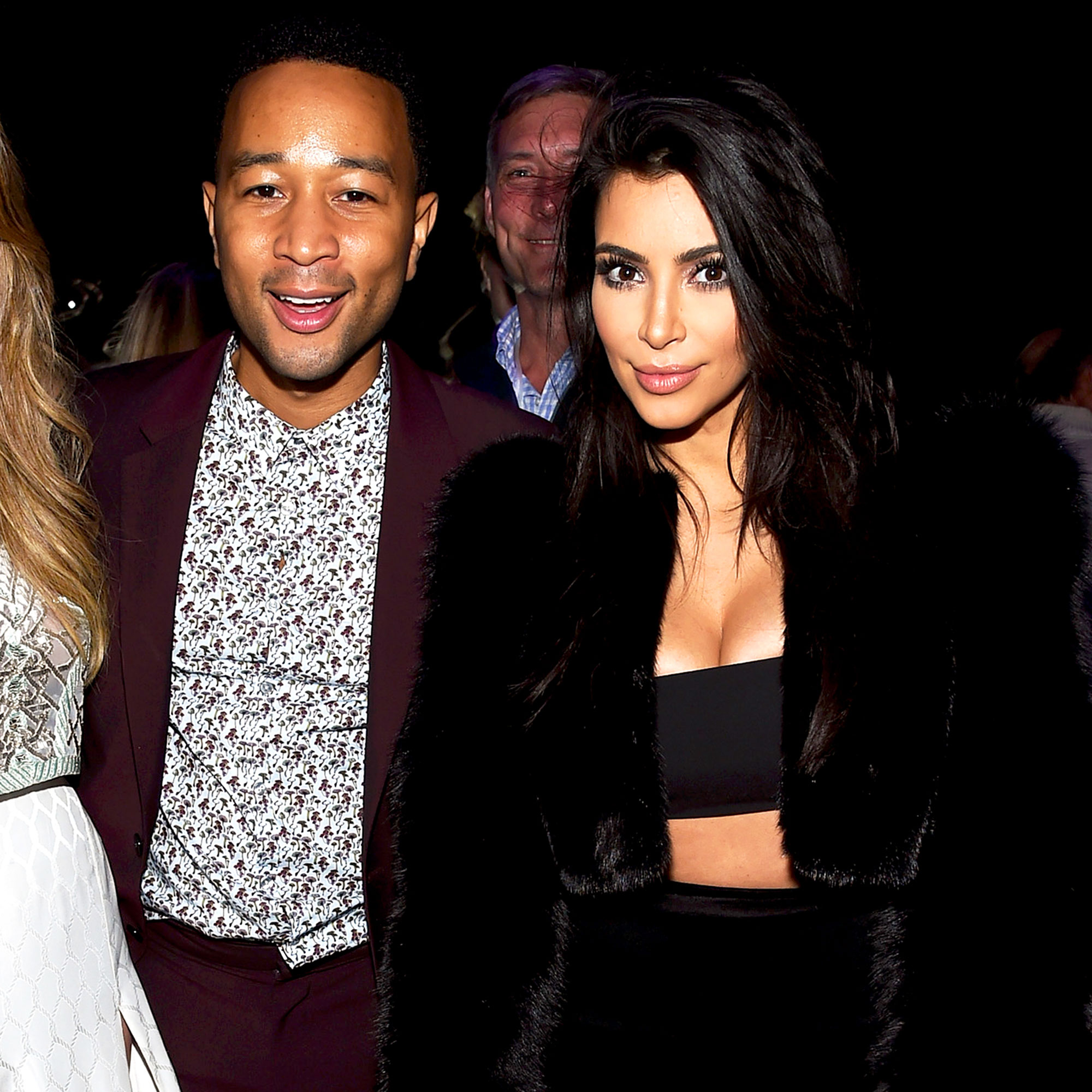 John Legend and Kim Kardashian