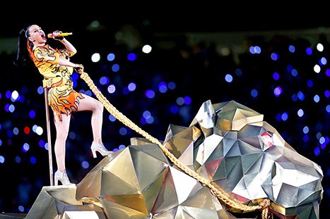 Katy Perry w/Lion