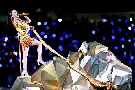 Katy Perry w/Lion
