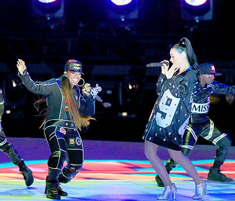 Missy Elliott and Katy Perry