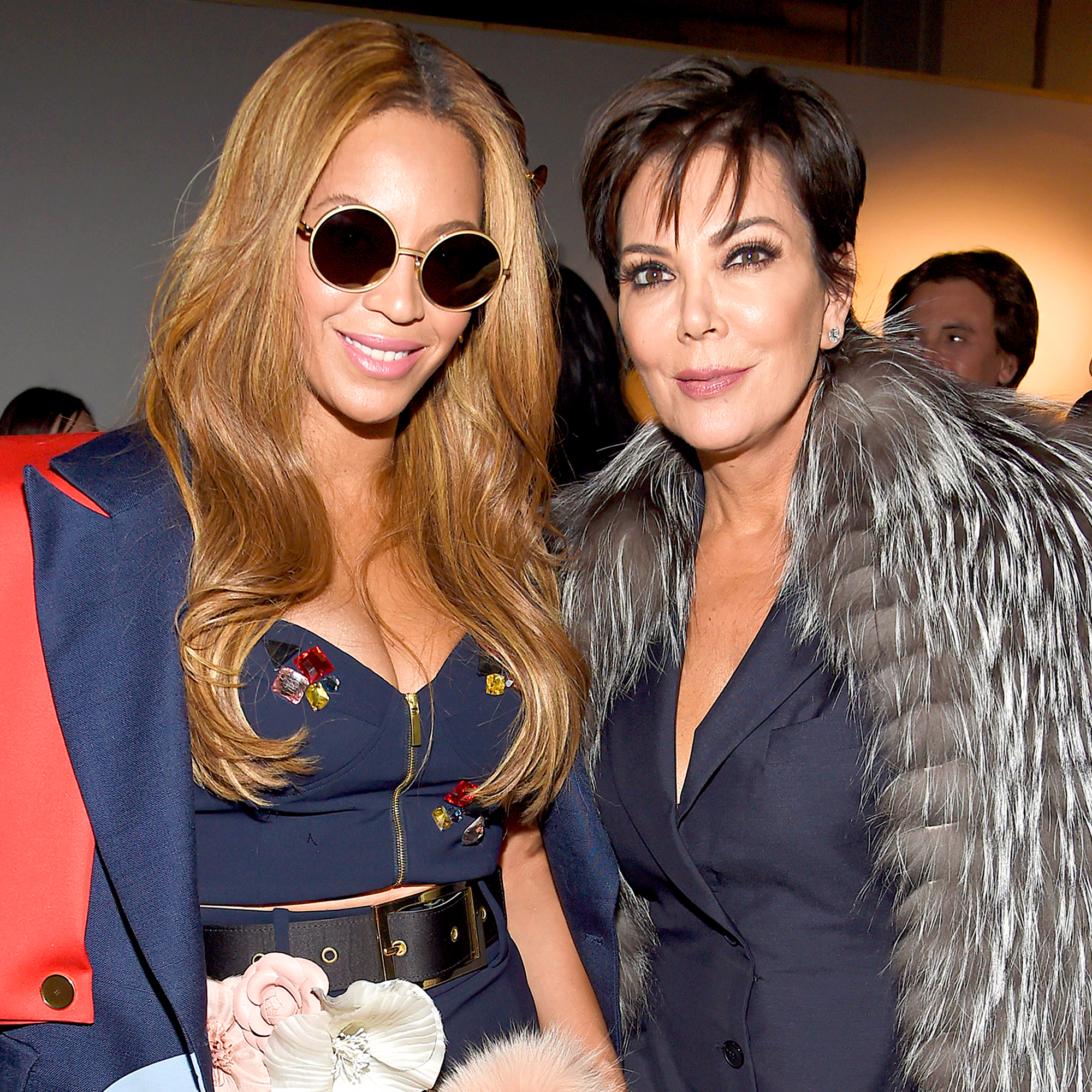 Beyonce and Kris Jenner
