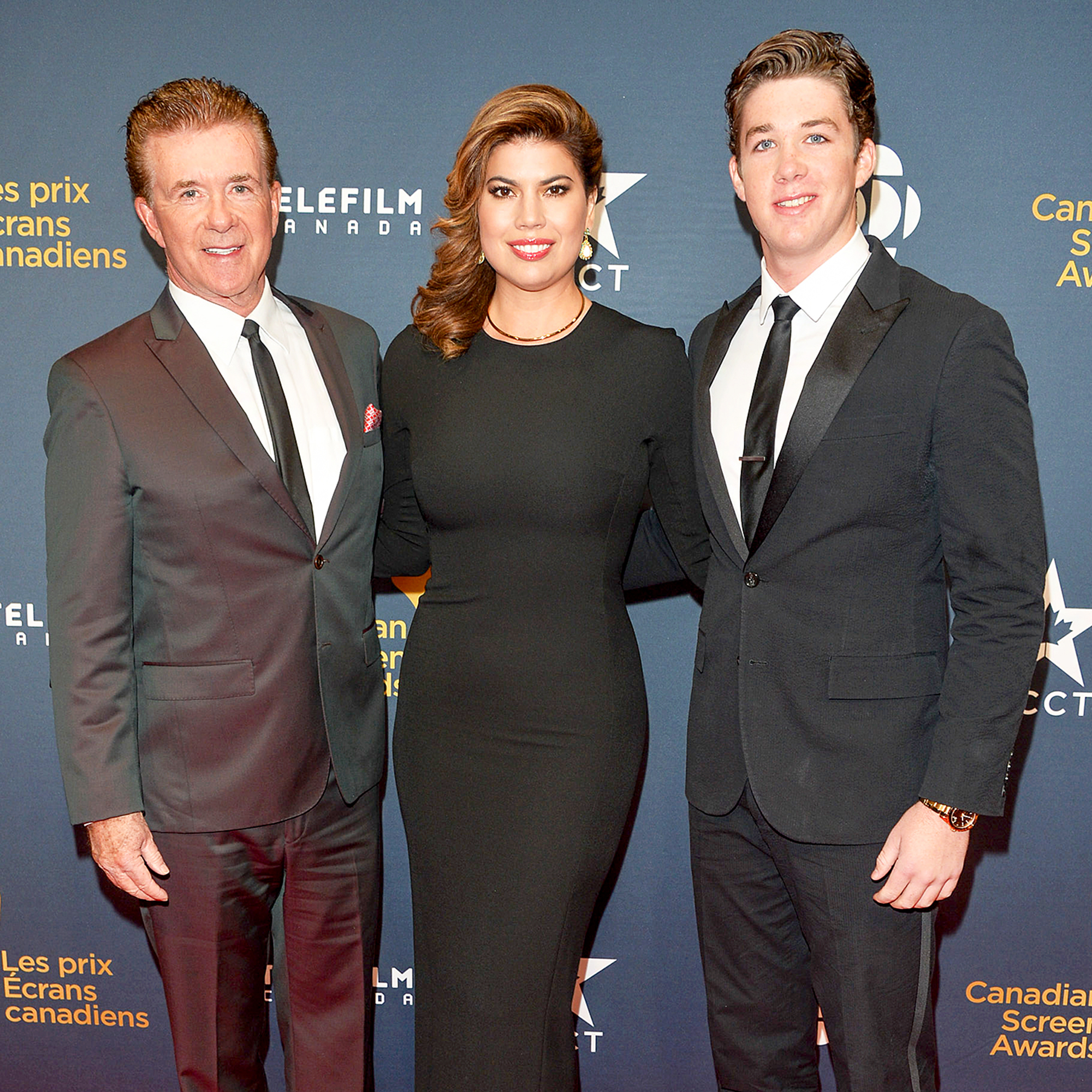 Alan Thicke, Tanya Thicke and Carter Thicke