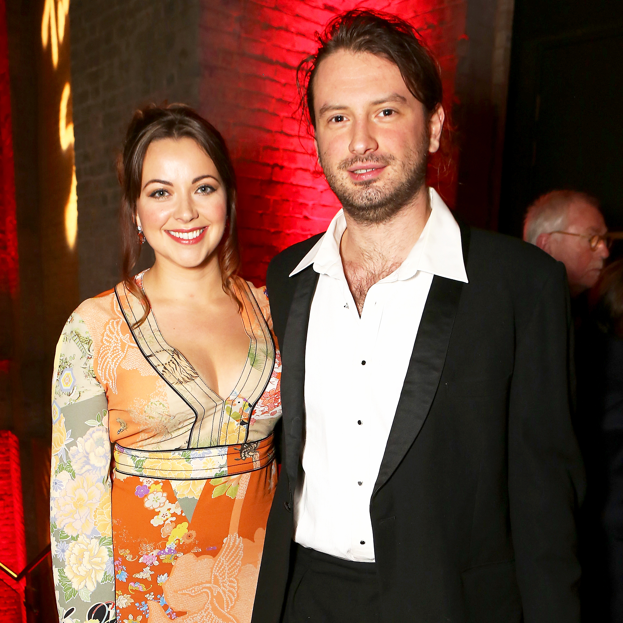 Charlotte Church and Johnny Powell