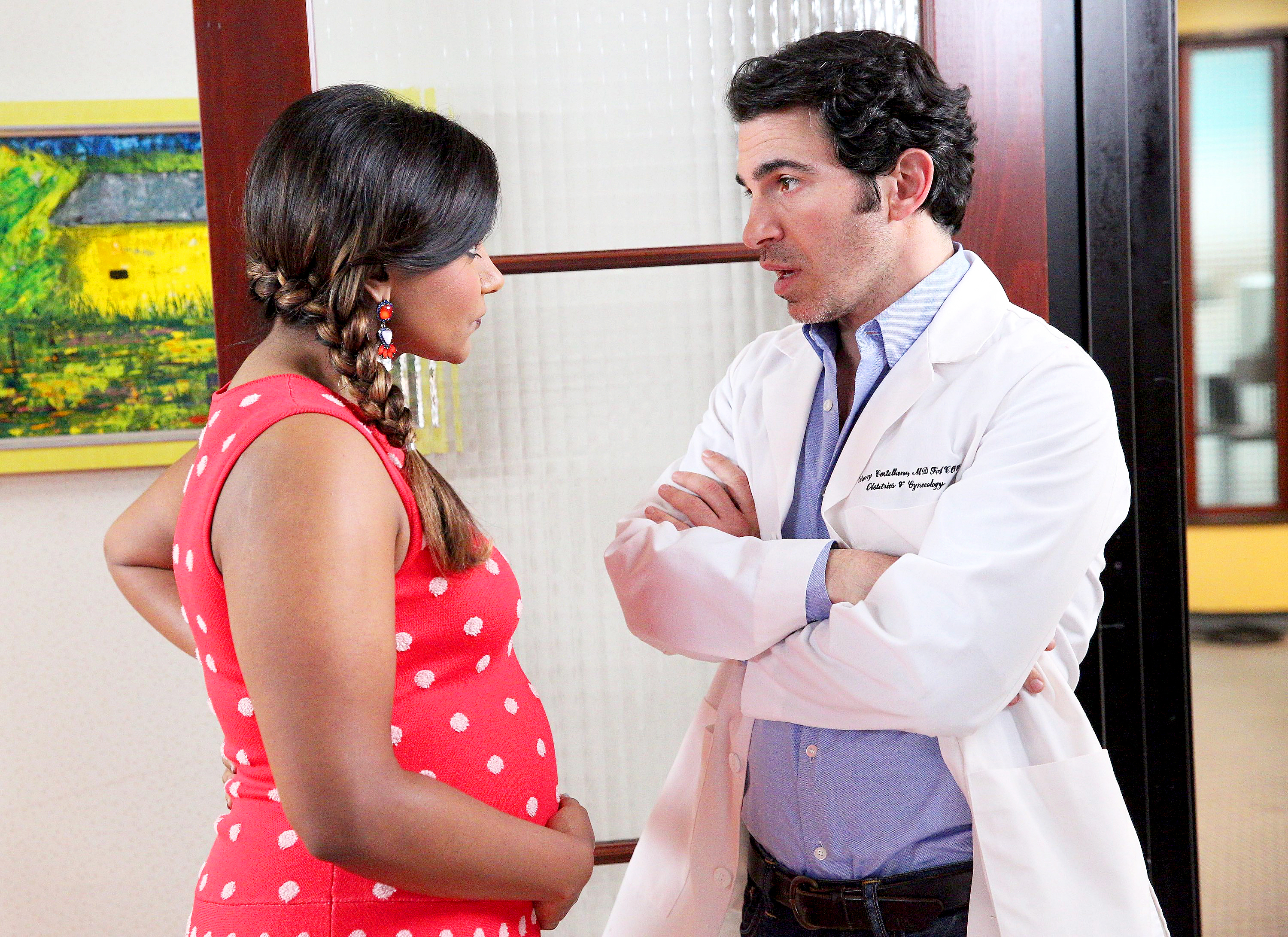 Mindy Kaling and Chris Messina The Mindy Project