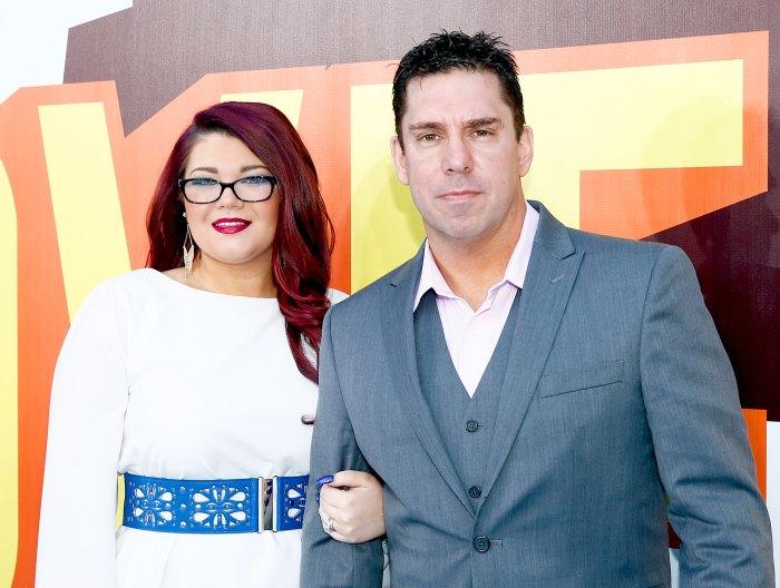 Amber Portwood and Matt Baier