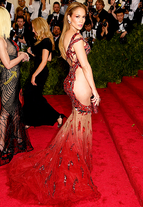 Beyonce, Kim Kardashian Go Sheer at Met Gala 2015: Who Wore It Better?