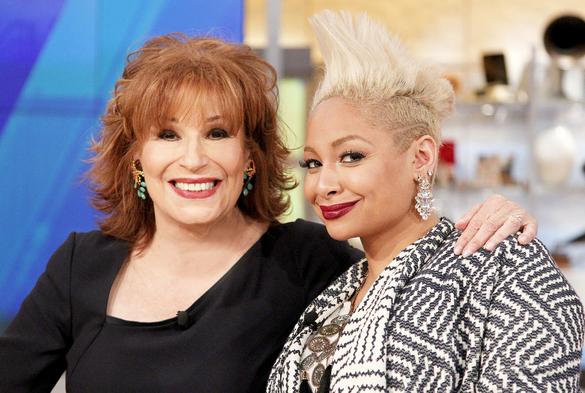 Joy Behar and Raven-Symone