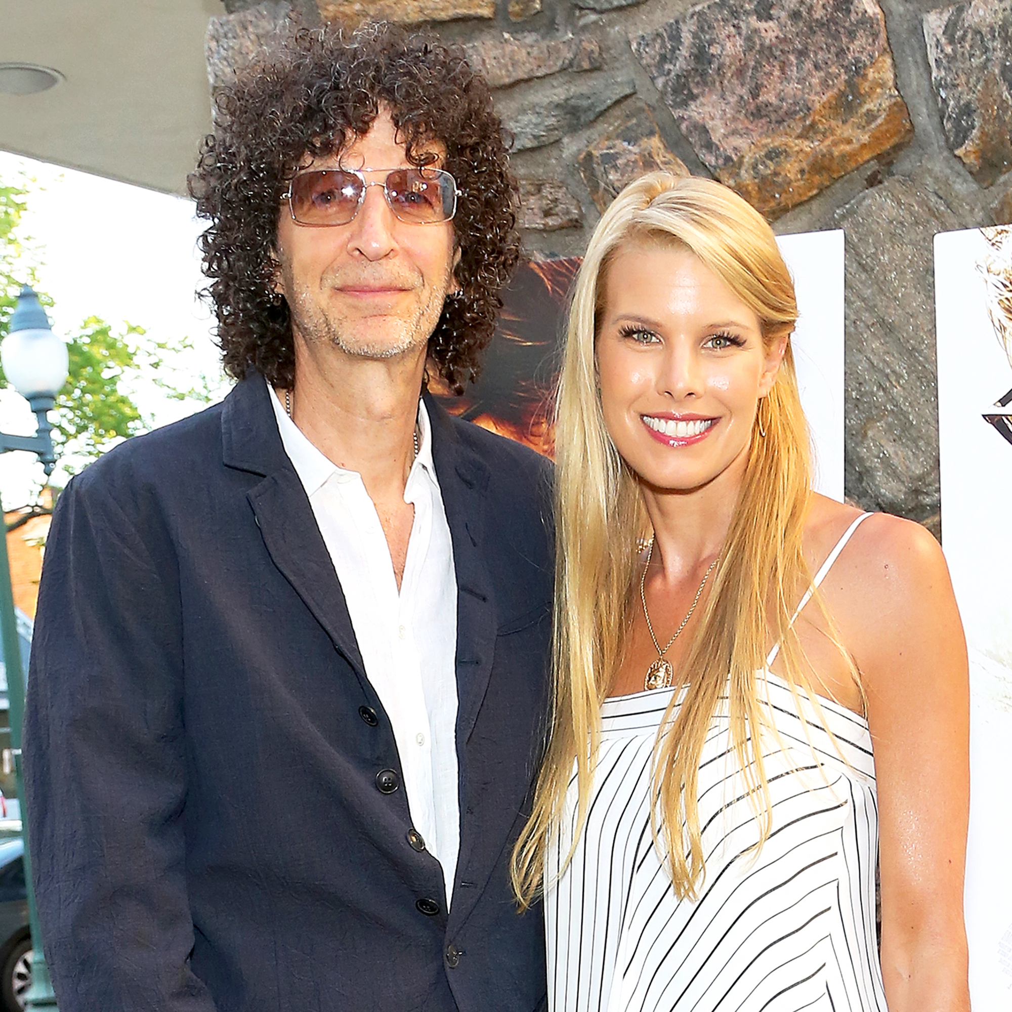 Howard Stern and wife Beth Ostrosky Stern
