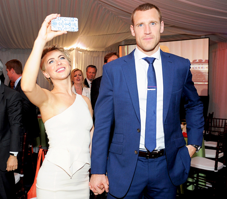 Julianne Hough and Brooks Laich at Gala