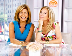 Hoda Kotb and Kathie Lee Gifford appear on 'Today' show.