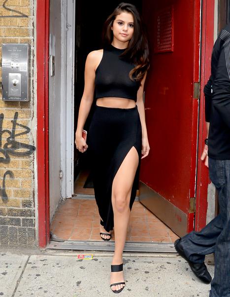 Selena Gomez Crop Tops