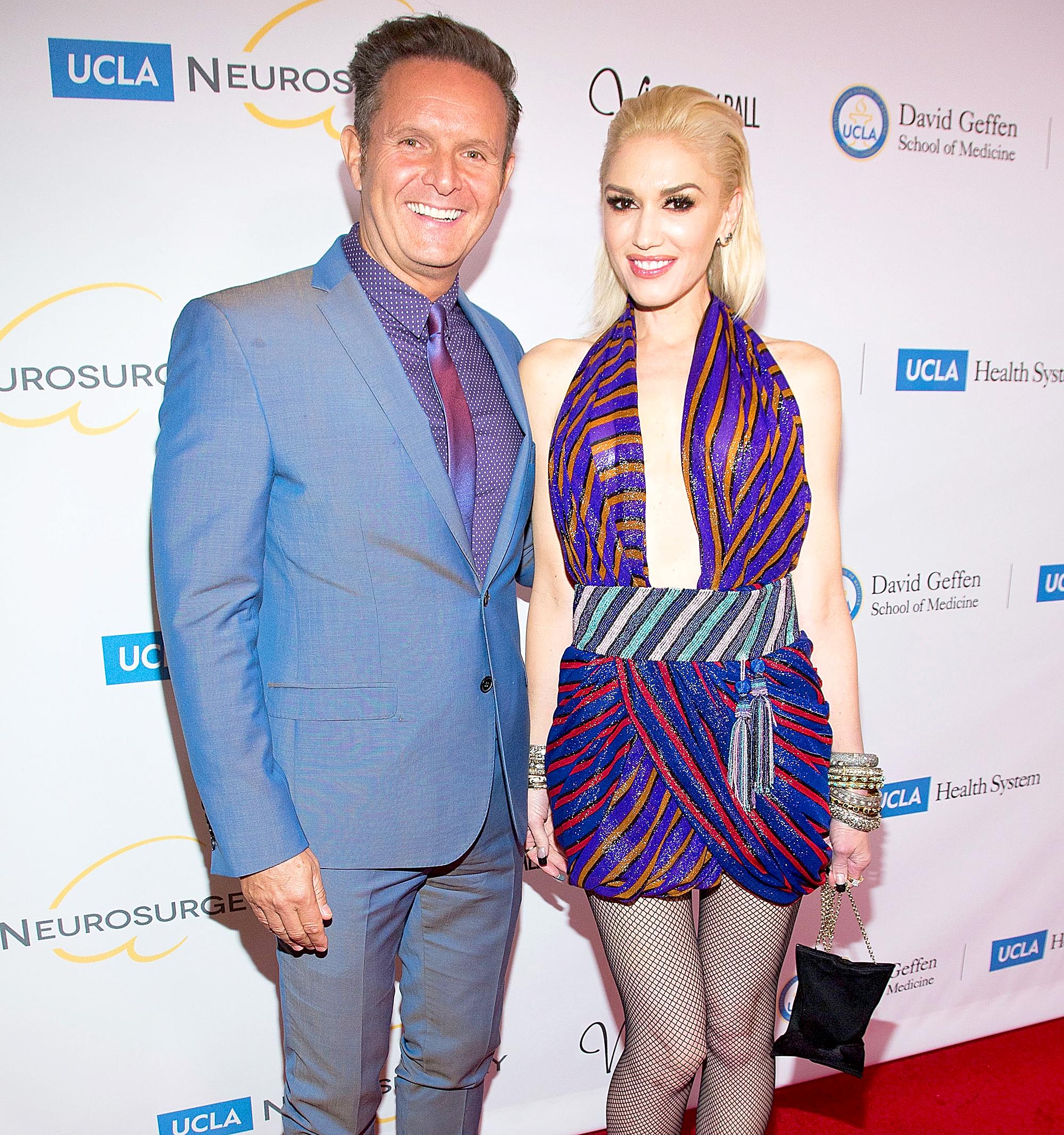 Mark Burnett and Gwen Stefani
