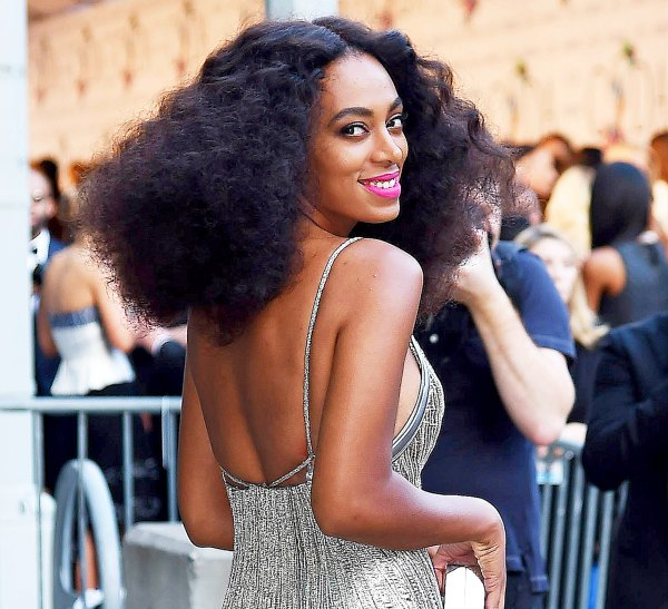 Solange Goes Naked for Cranes In the Sky Music Video