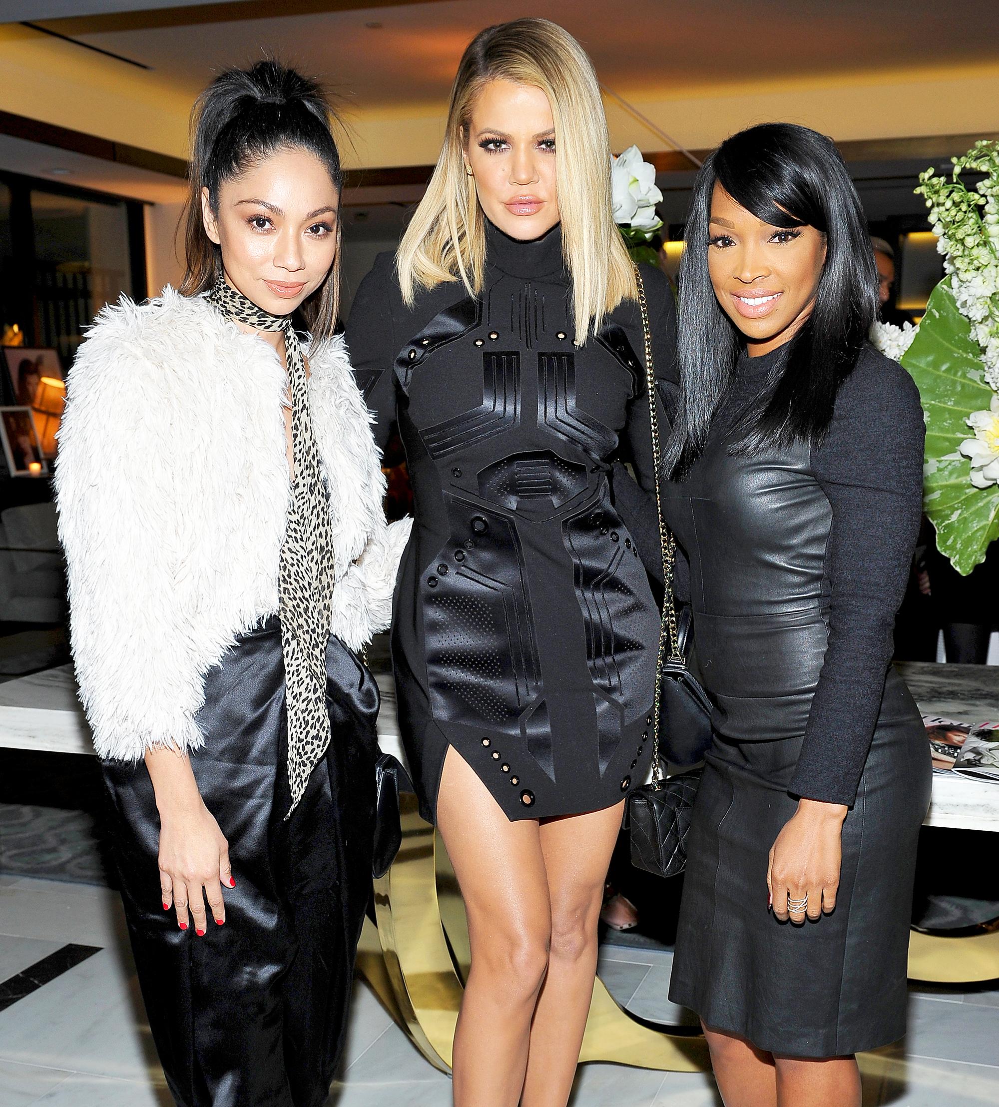 Monica Rose, Khloe Kardashian and Malika Haqq