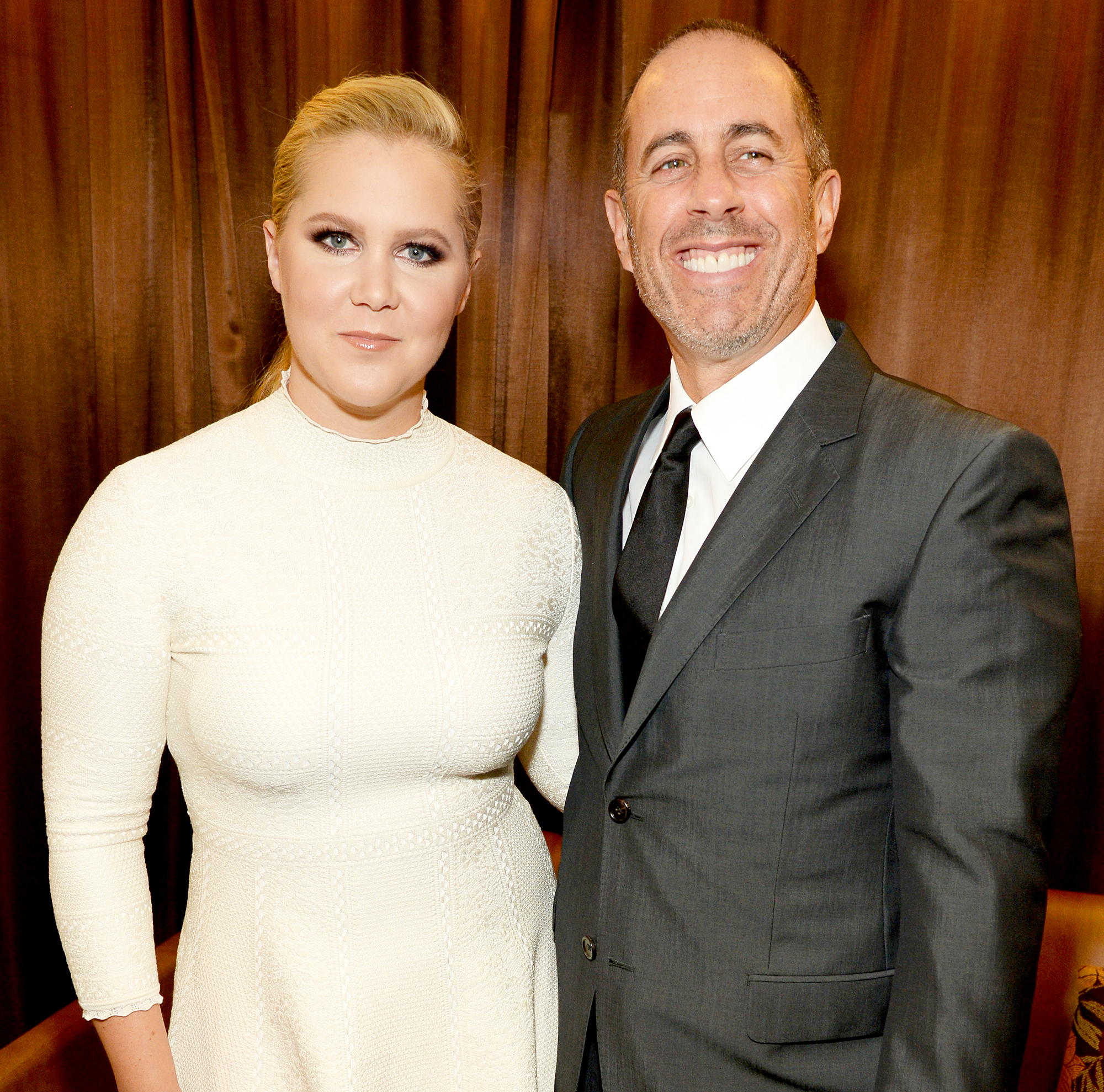 Amy Schumer and Jerry Seinfeld