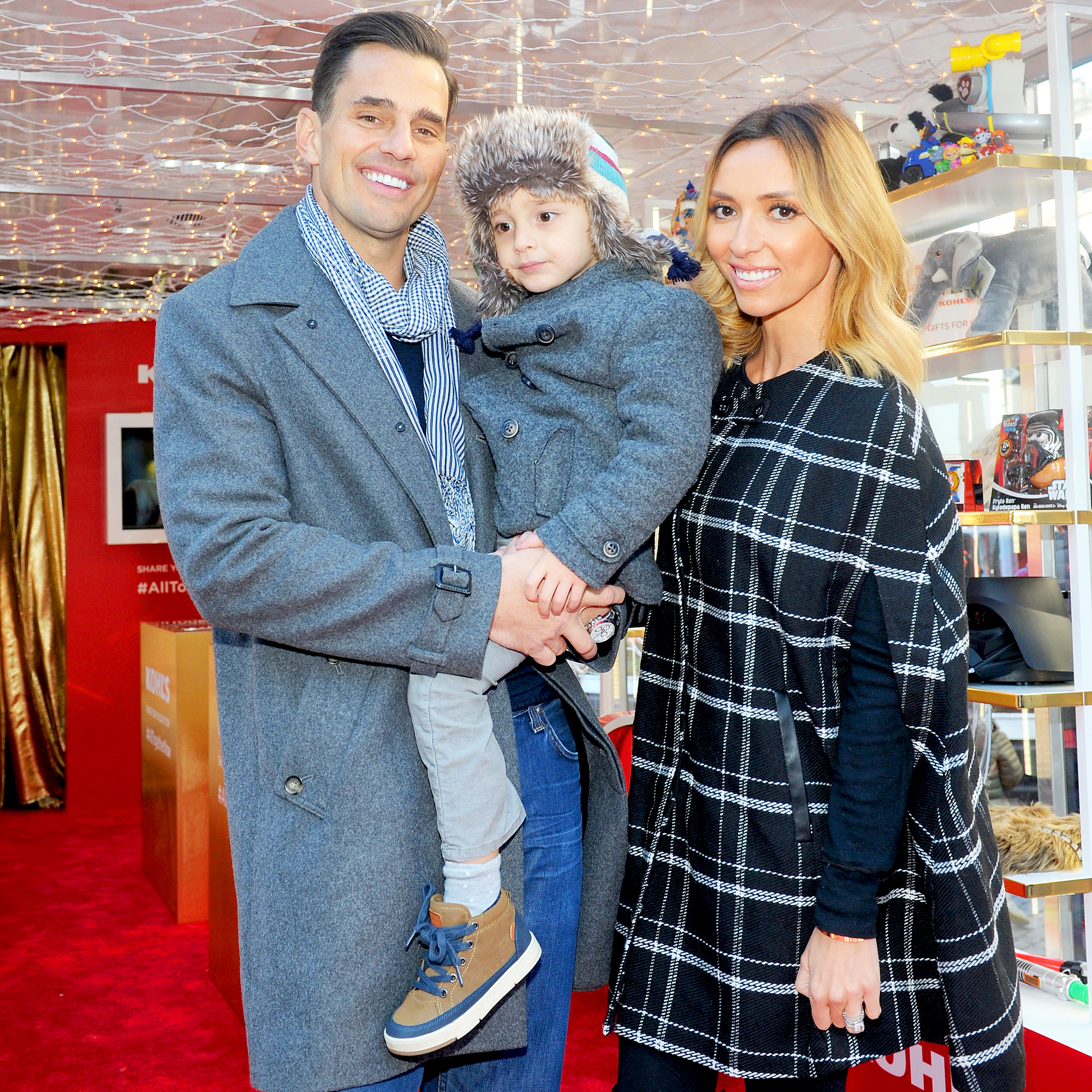 Bill Rancic, Duke Rancic and Giuliana Rancic