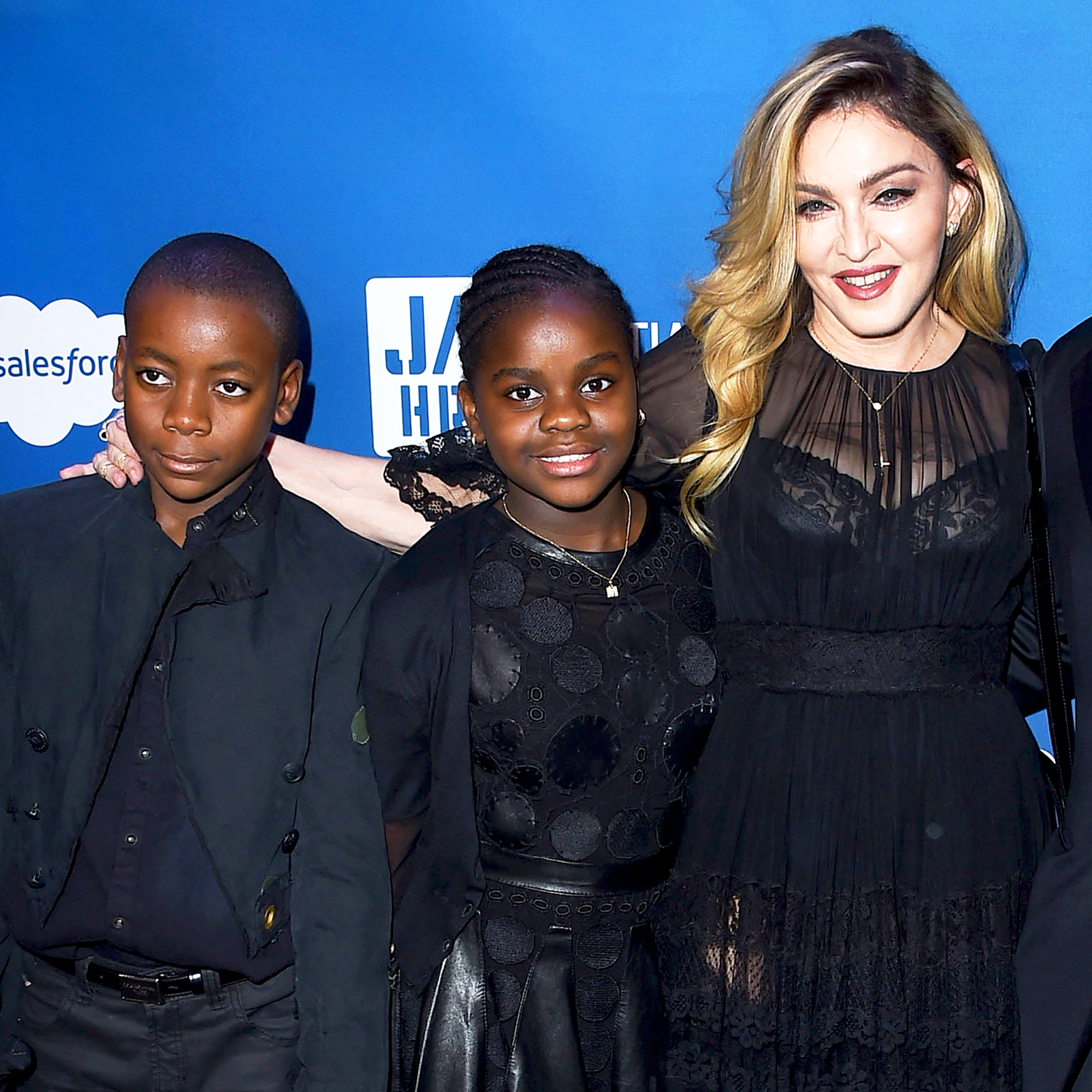 David, Mercy and Madonna
