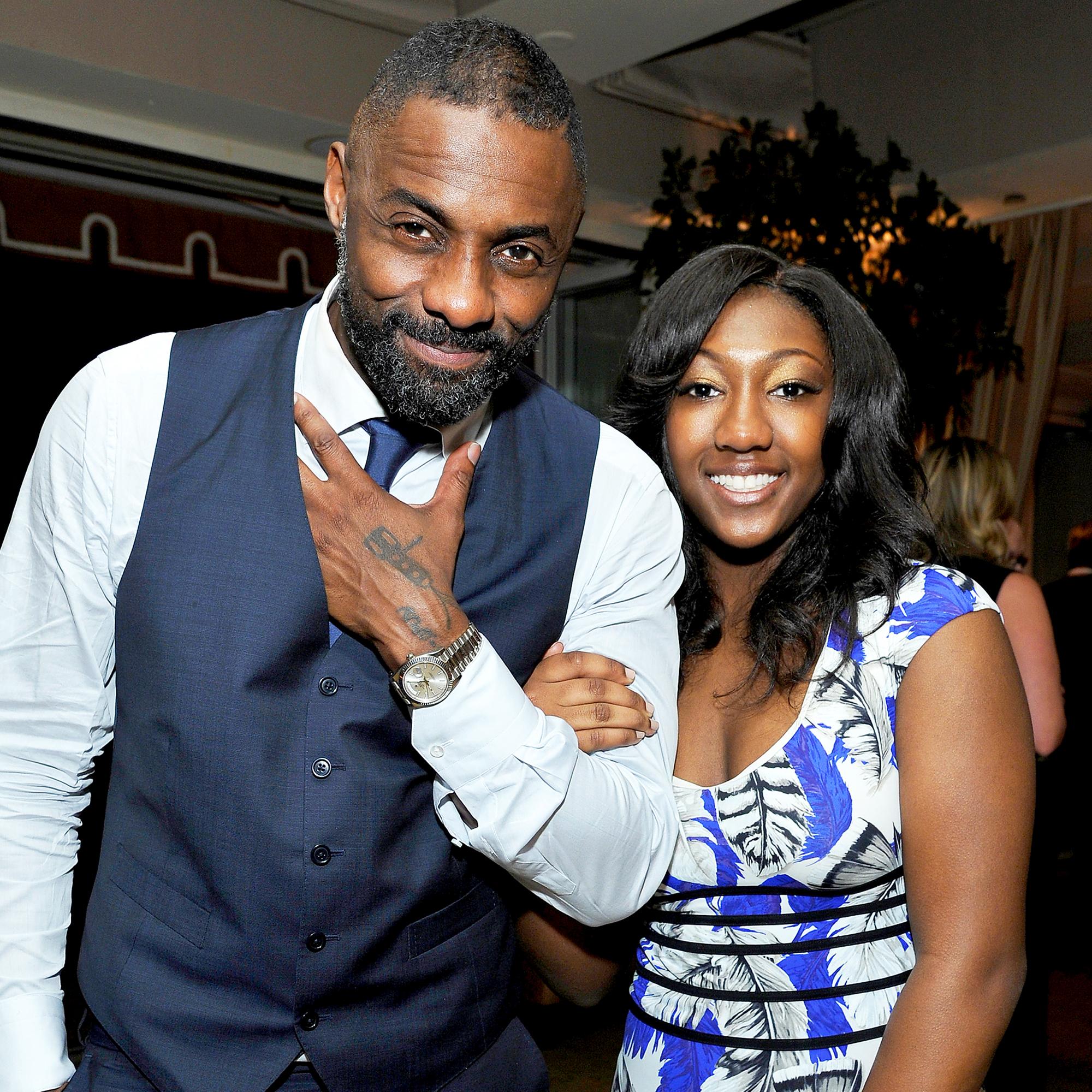 Idris Elba and Isan