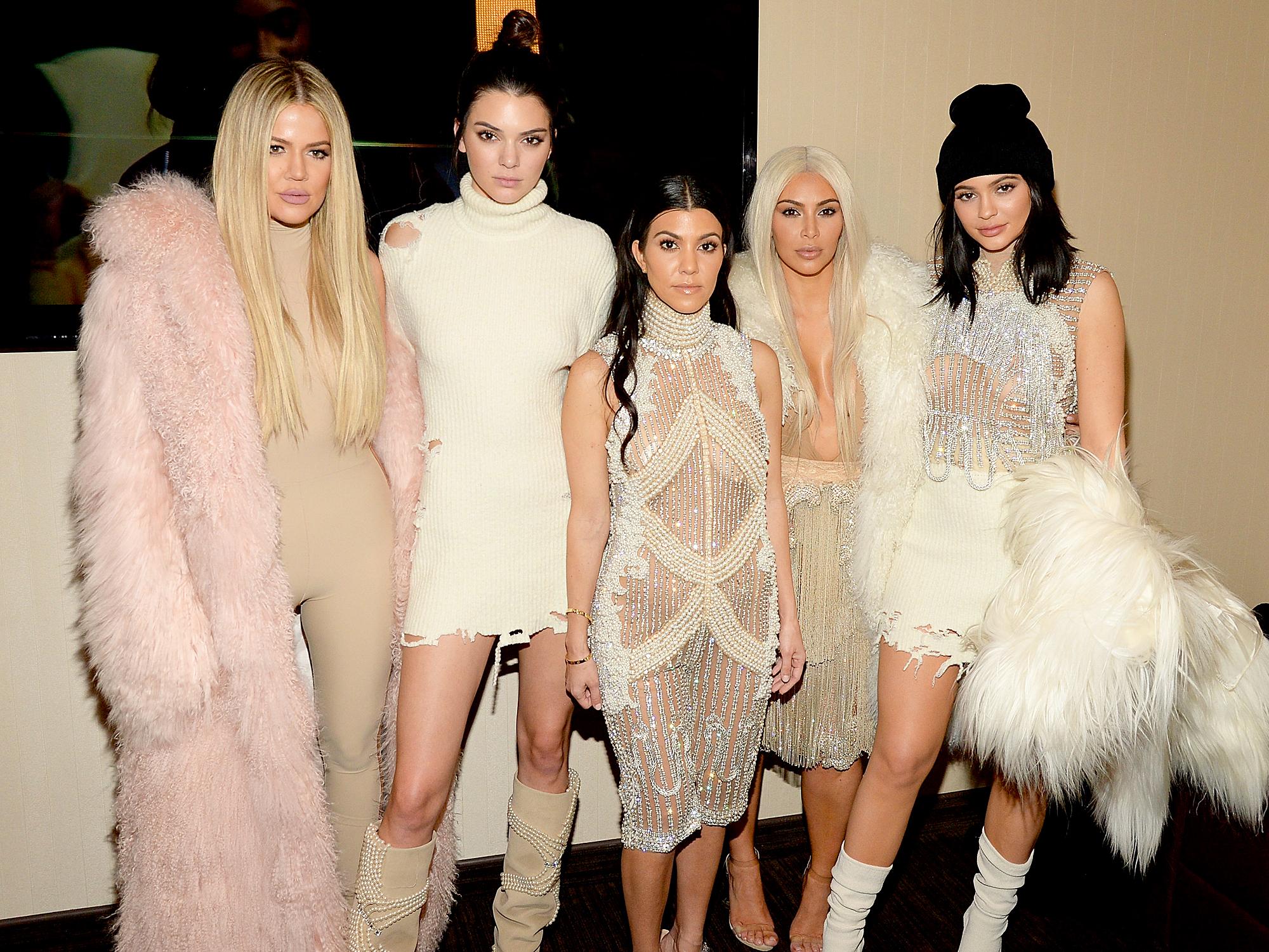 Khloe Kardashian, Kendall Jenner, Kourtney Kardashian, Kim Kardashian and Kylie Jenner