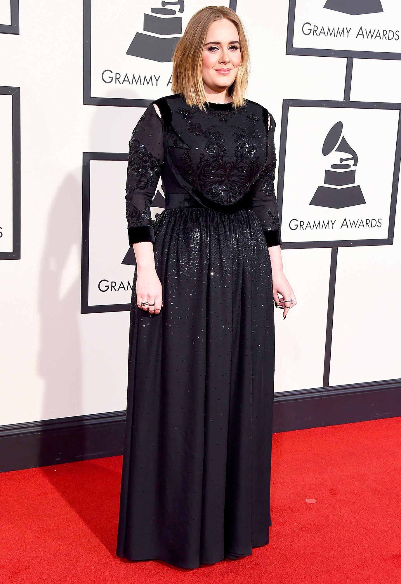 Grammys 2016 Adele Looks Slim Stunning At First Awards