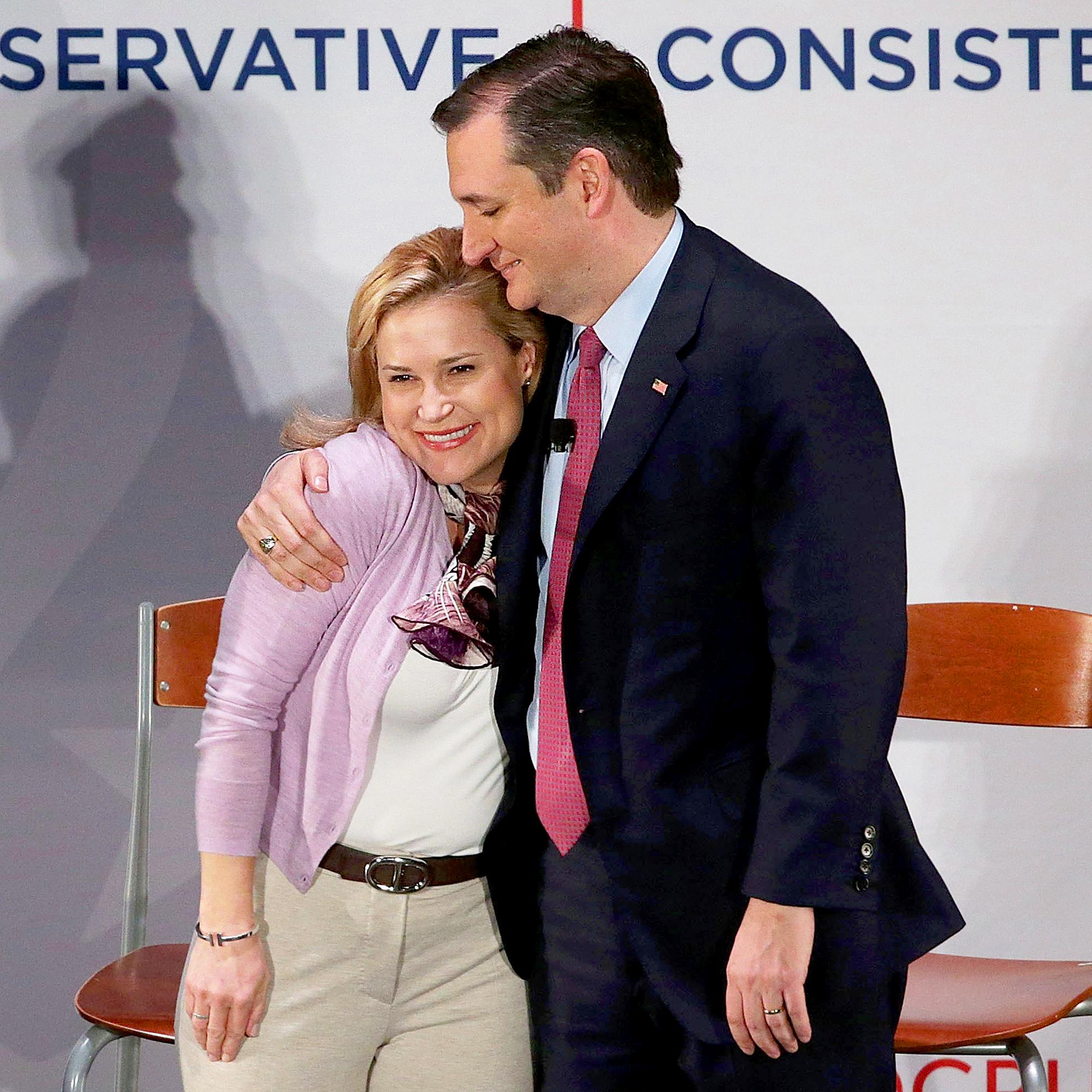 Ted Cruz and Heidi