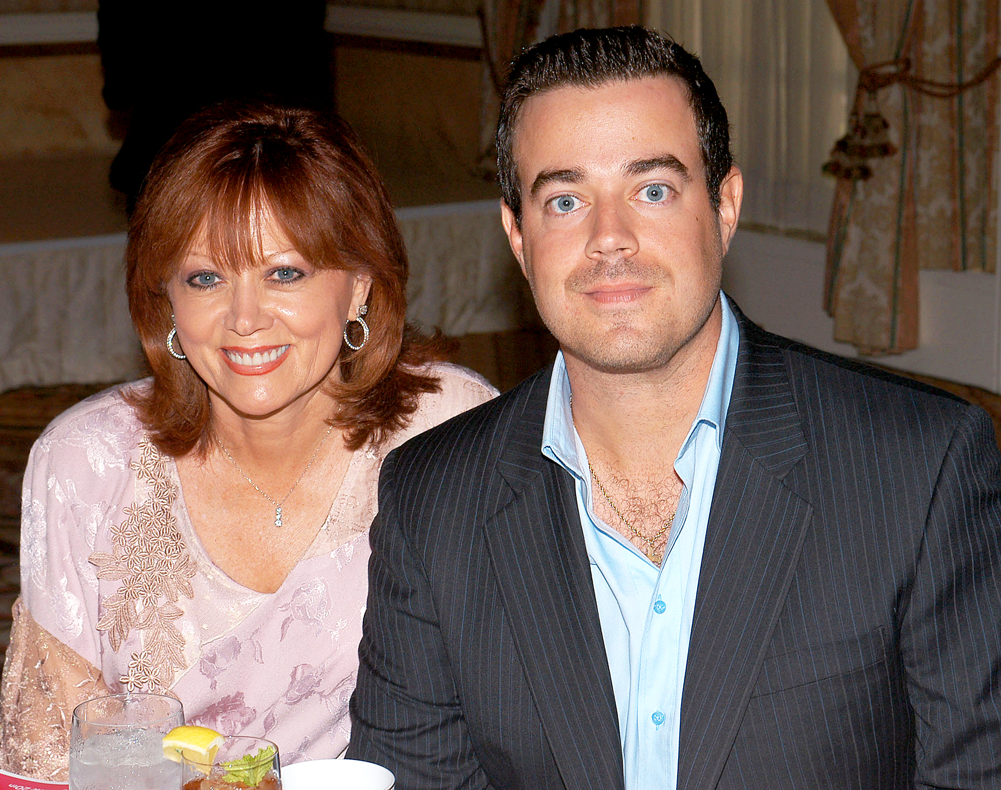 Carson Daly and Pattie Daly Caruso