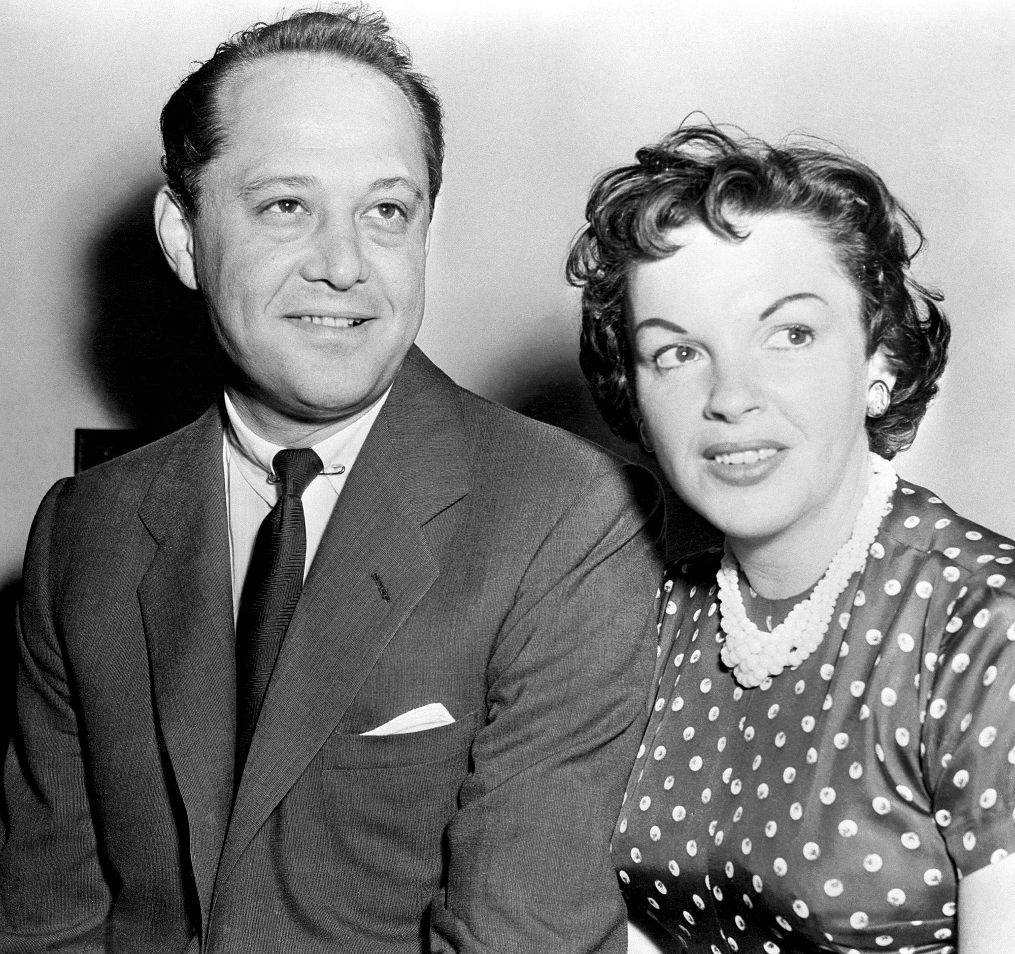 Sid Luft and Judy Garland