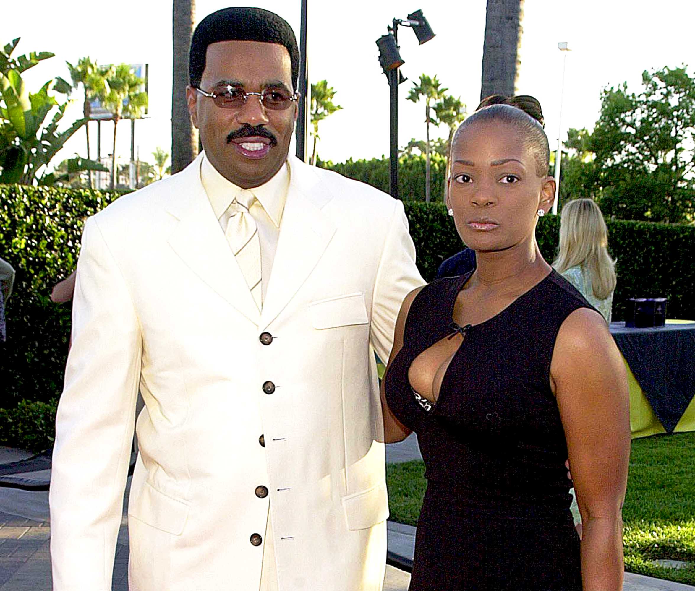Steve Harvey and Mary