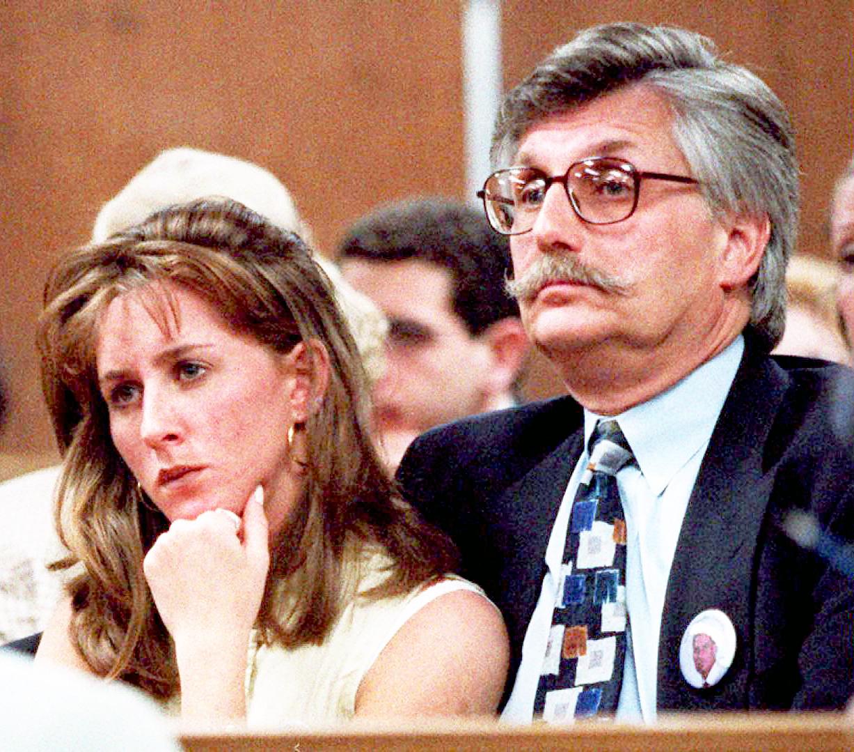 Kim Goldman and Fred Goldman