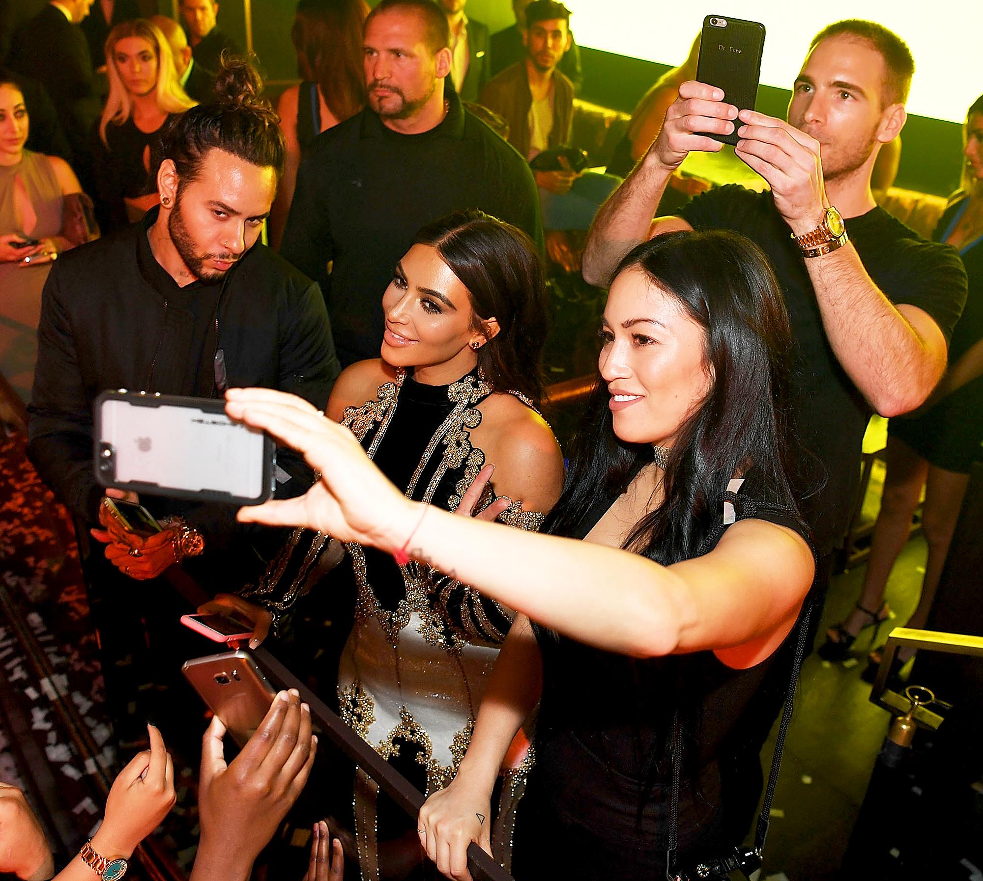 Kim Kardashian and Stephanie Shepherd