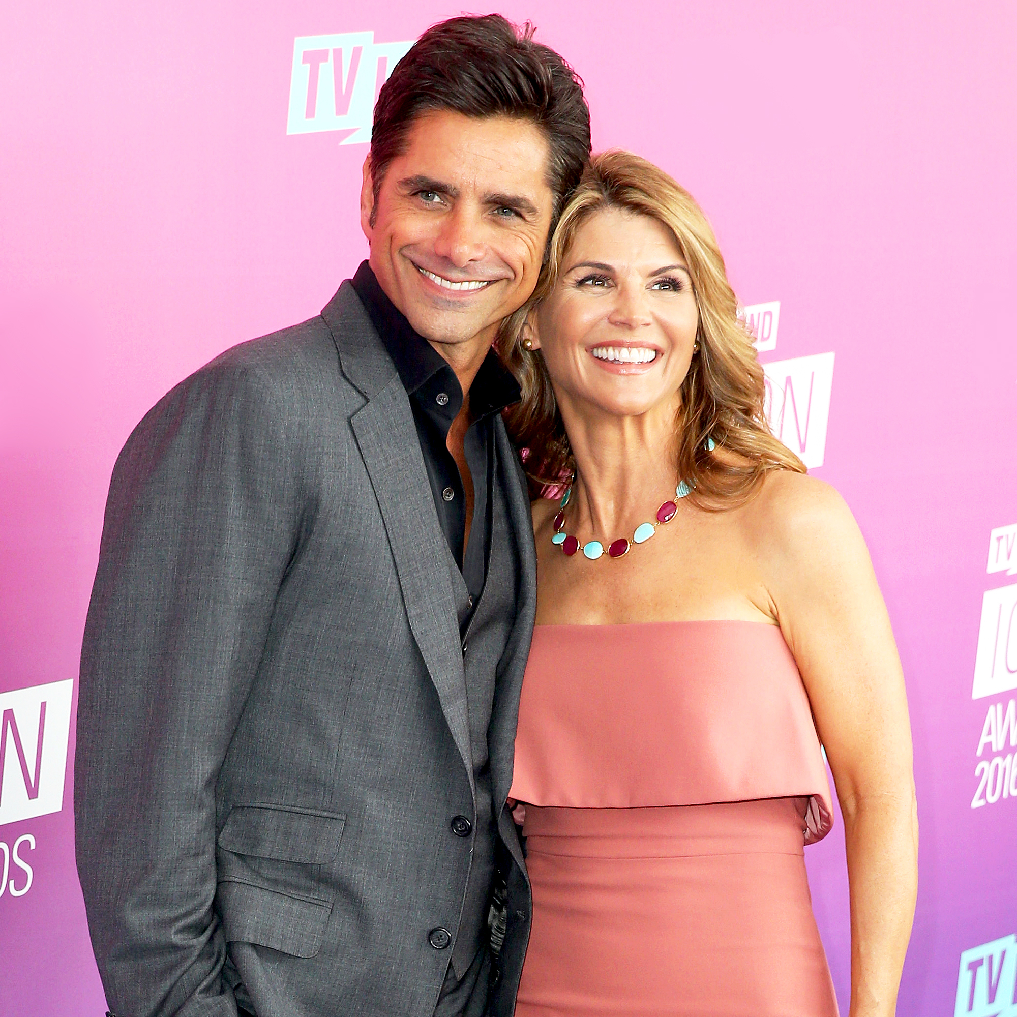 John Stamos and Lori Loughlin