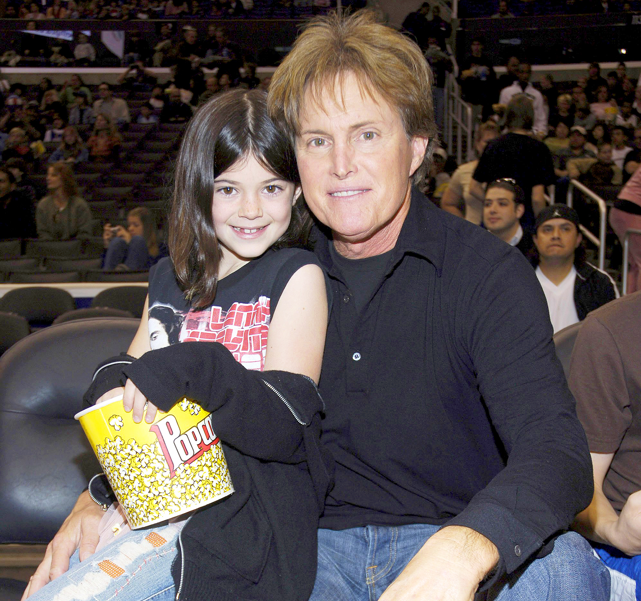 Kylie Jenner and Bruce Jenner