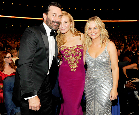 Jon Hamm, Jennifer Westfeldt and Amy Poehler