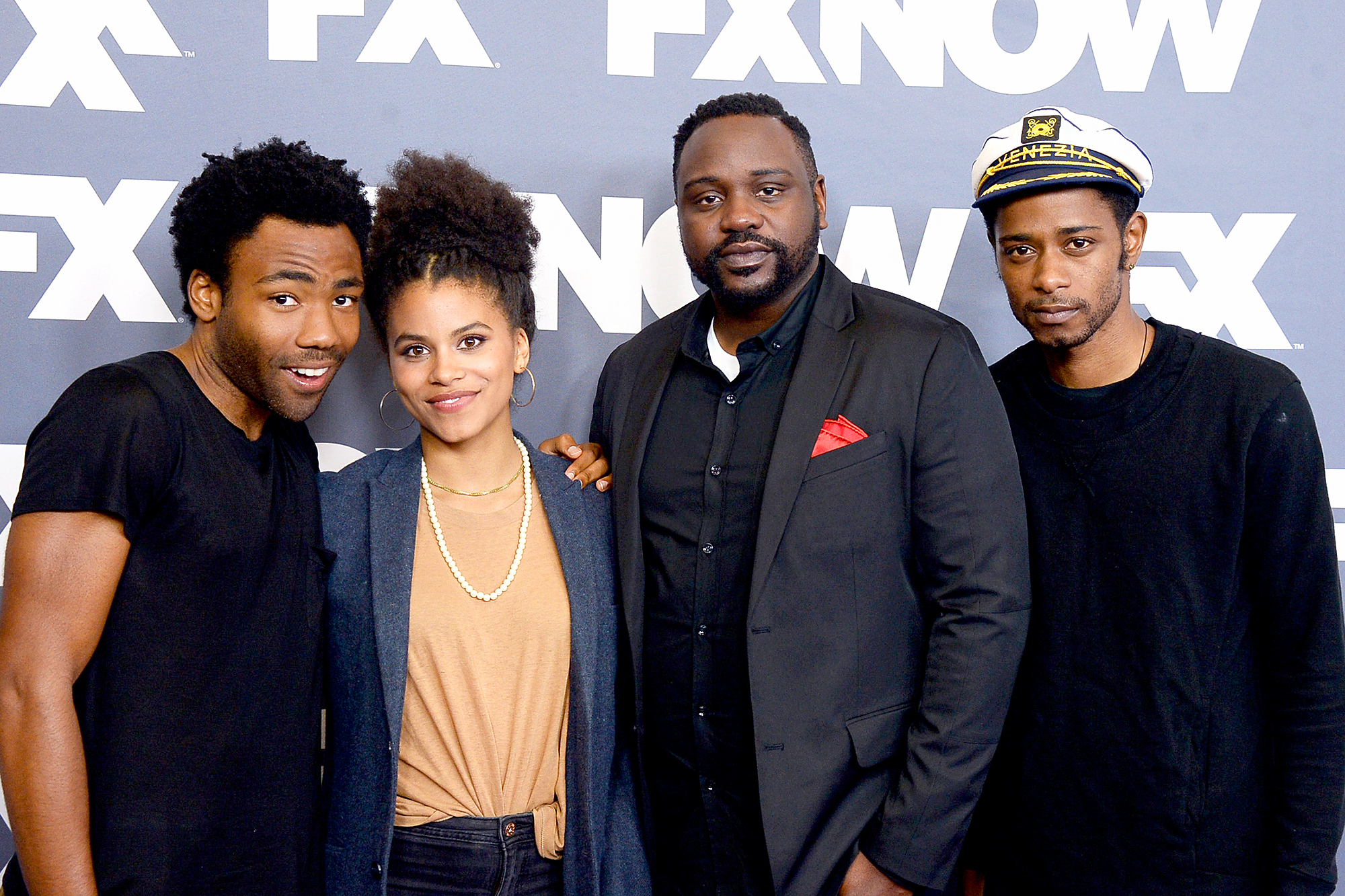 Donald Glover, Zazie Beetz, Brian Tyree Henry and Keith Stanfield