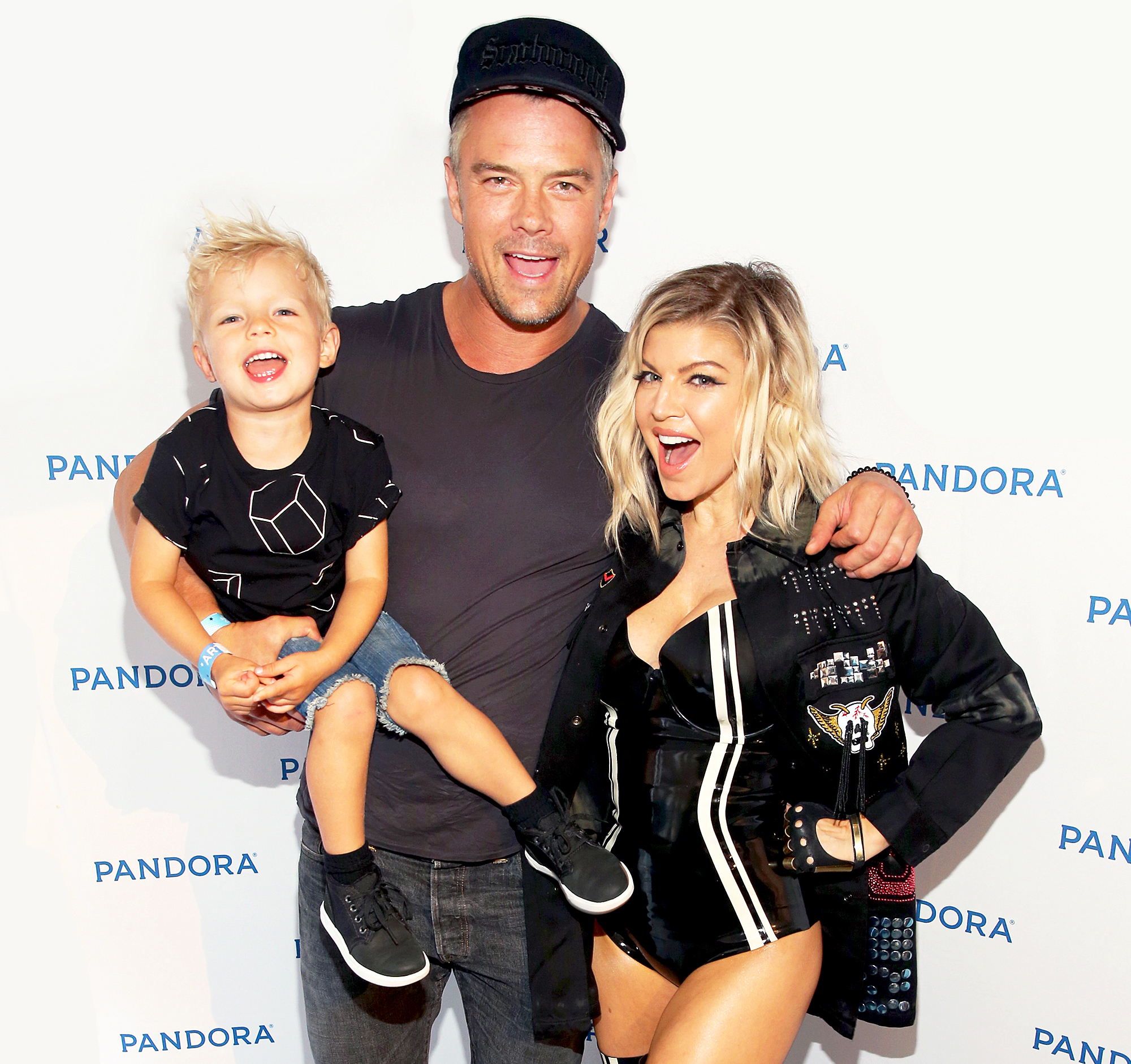 Fergie and Josh Duhamel and Axl