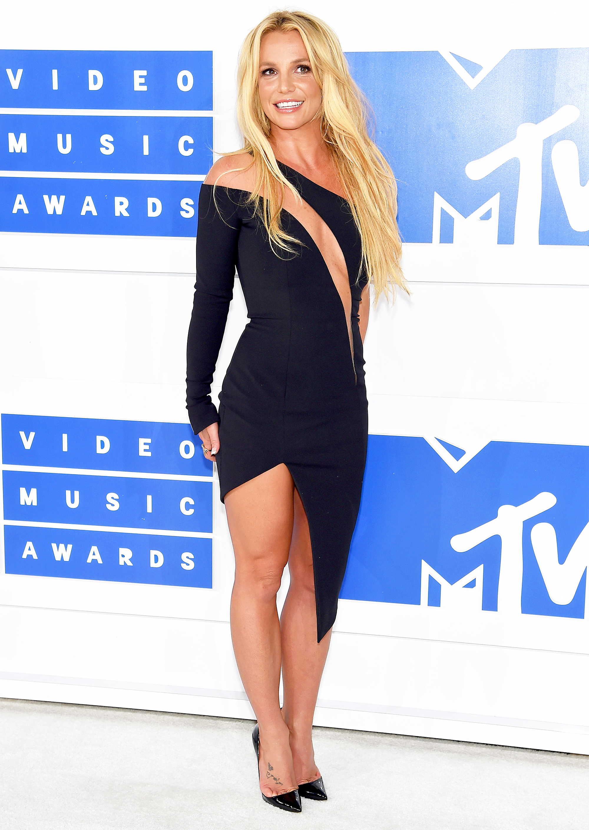 Britney Spears attends the 2016 MTV Video Music Awards. Jamie  McCarthy/Getty Images