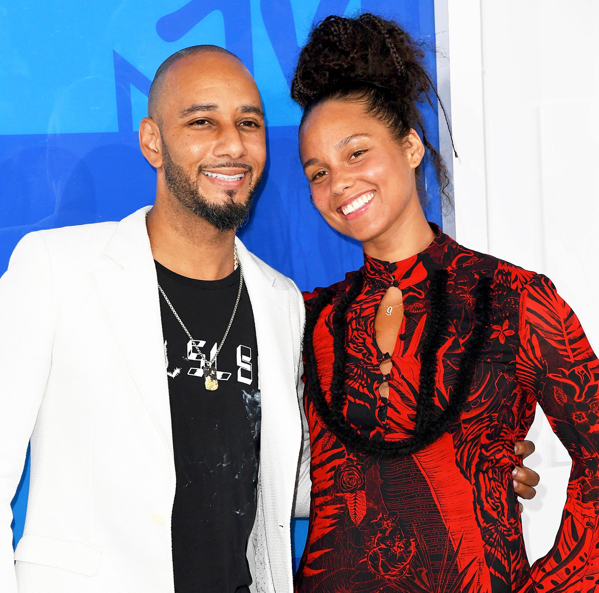 Alicia Keys Pens Anniversary Note to Swizz Beatz