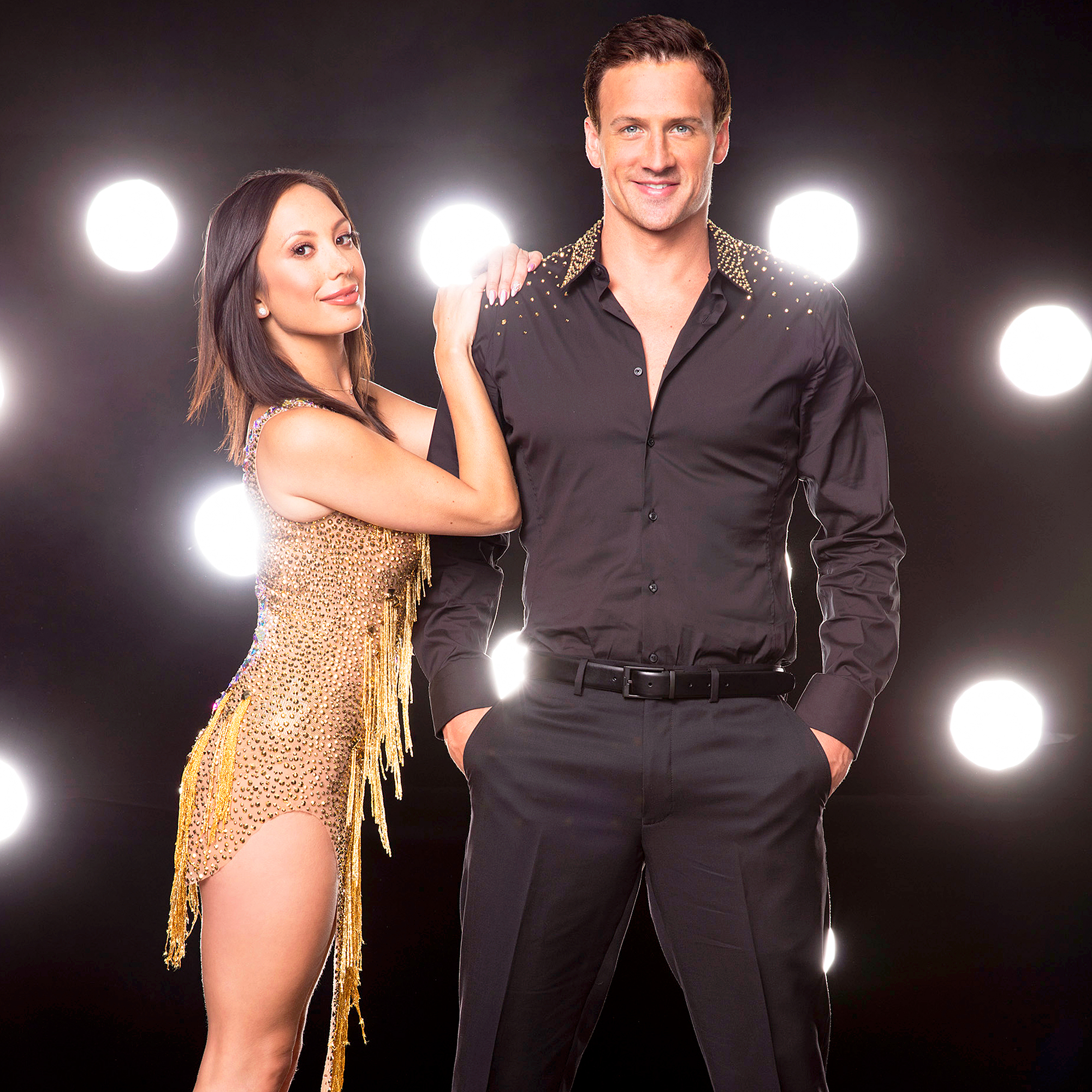 Cheryl Burke and Ryan Lochte