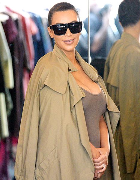 Kim Kardashian (smiling)