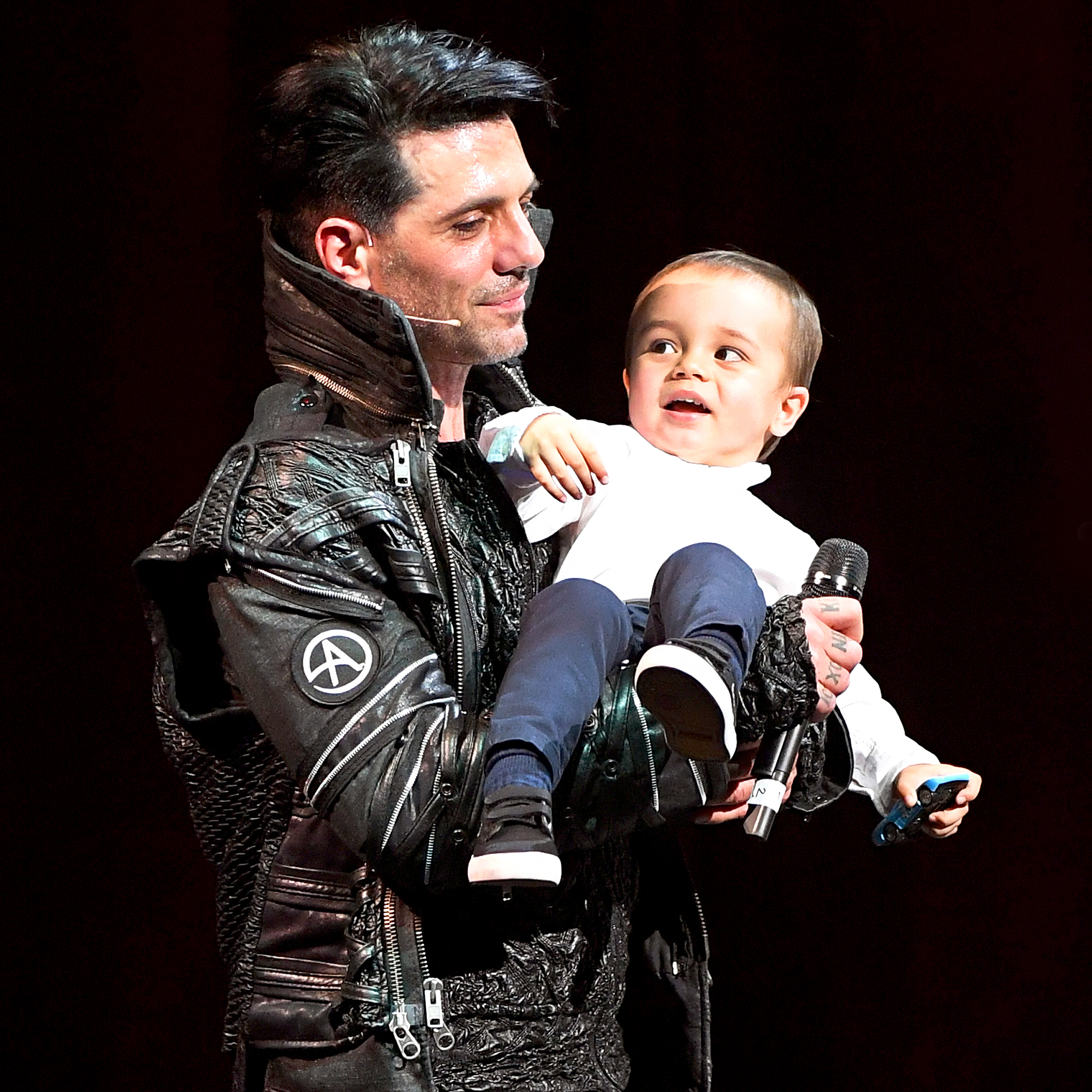 Criss Angel and son Johnny