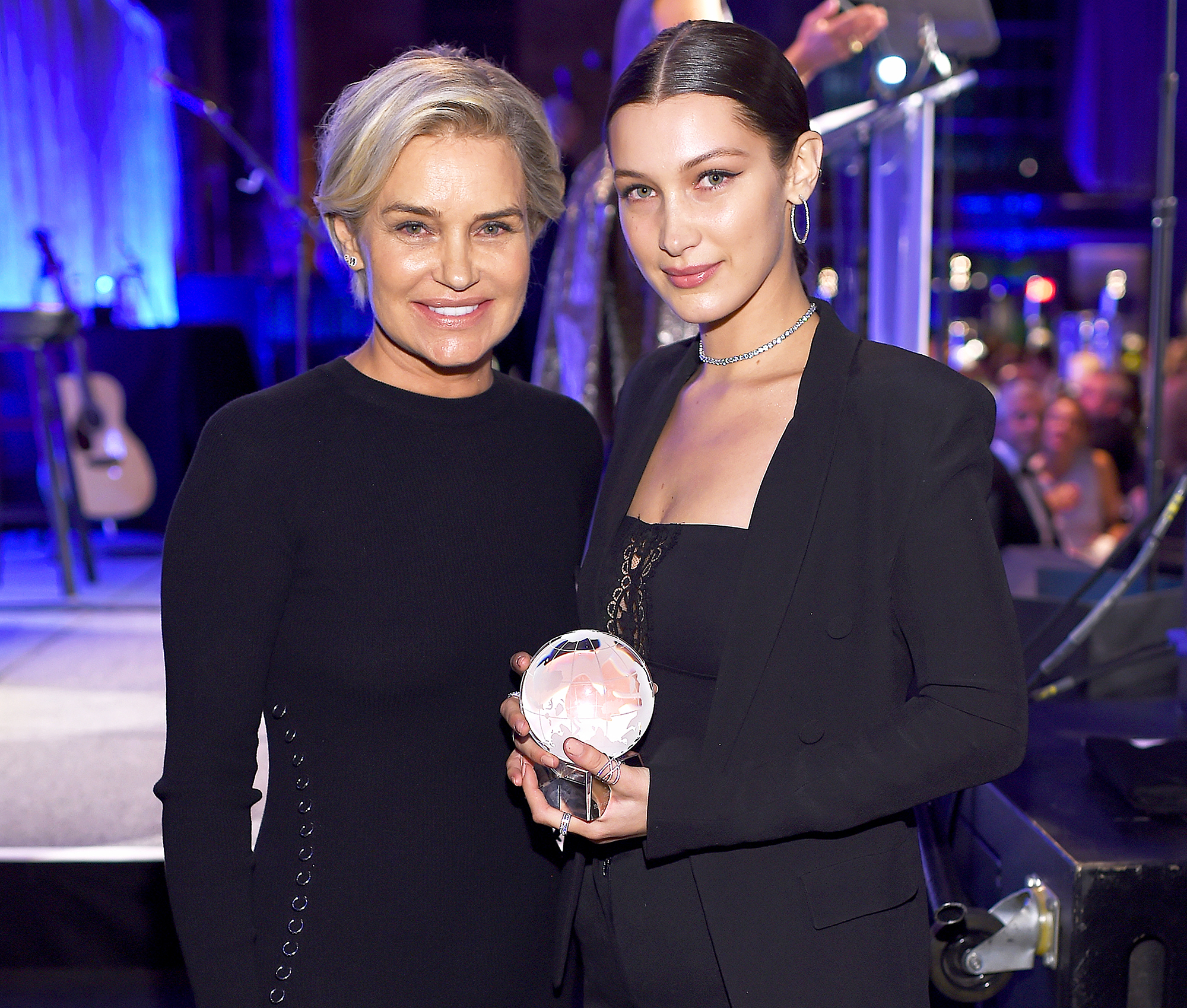 Bella Hadid and Yolanda
