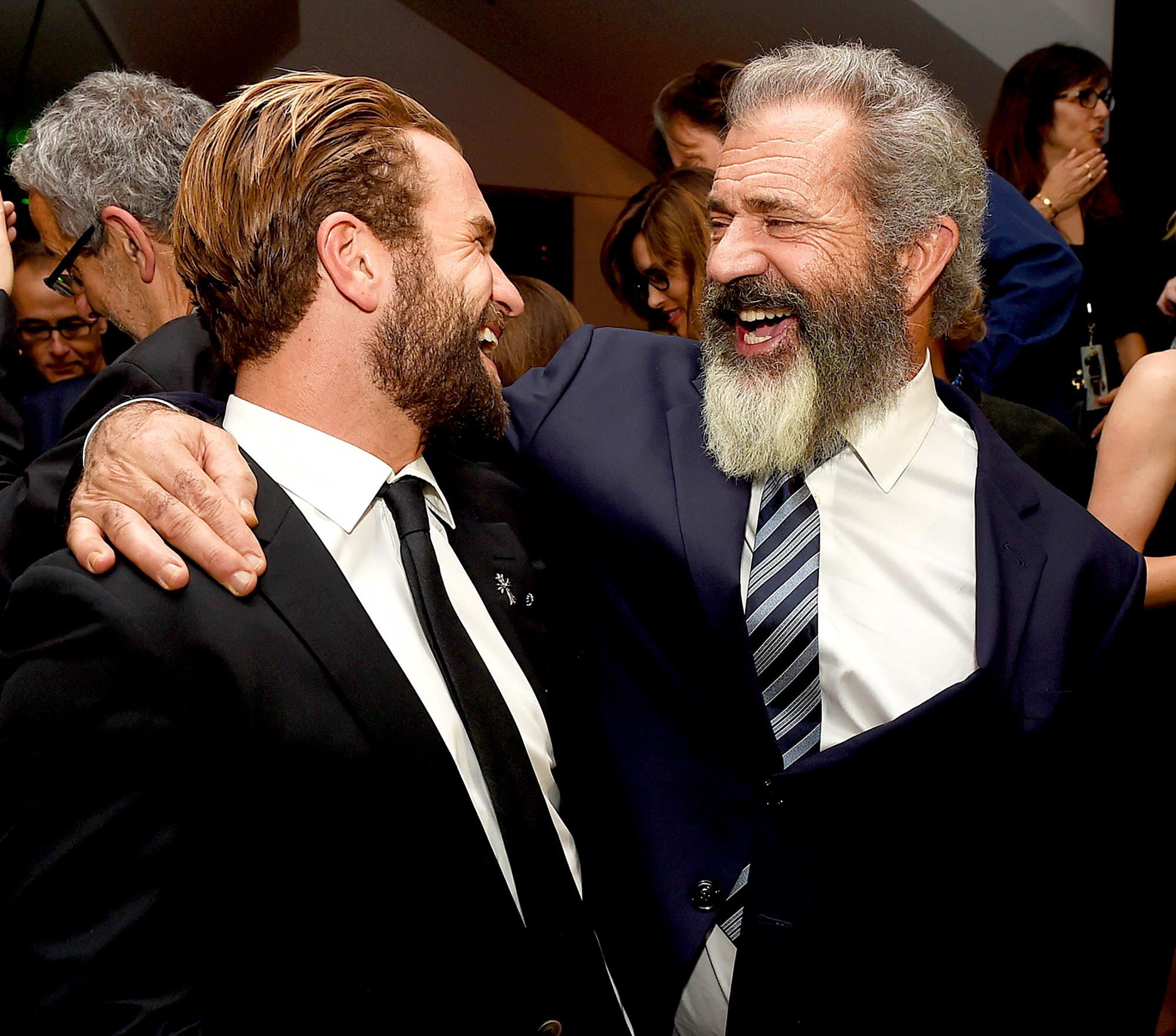 Mel Gibson and Milo Gibson