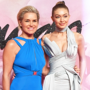 Yolanda Foster and Gigi Hadid