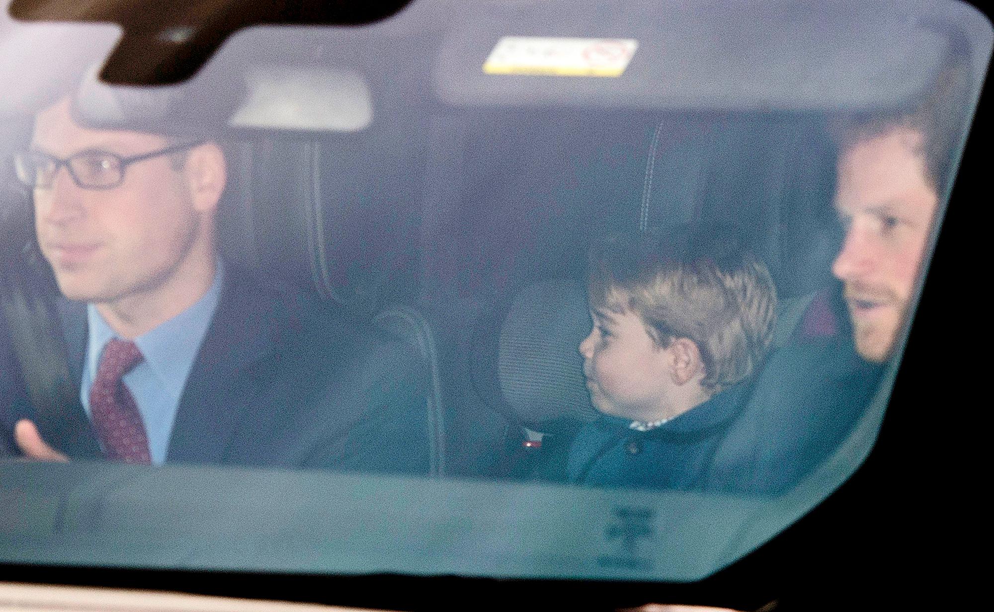 Prince William, Prince George and Prince Harry