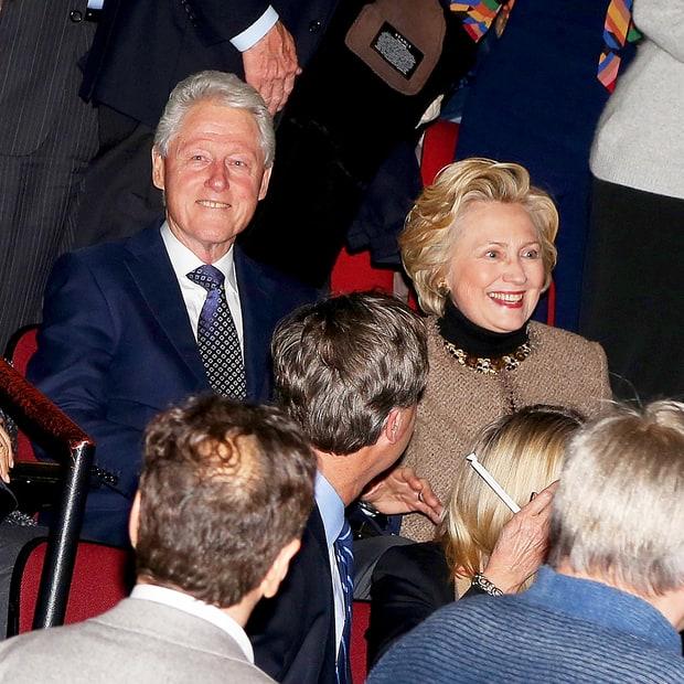 Bill Clinton and Hillary Clinton Bill