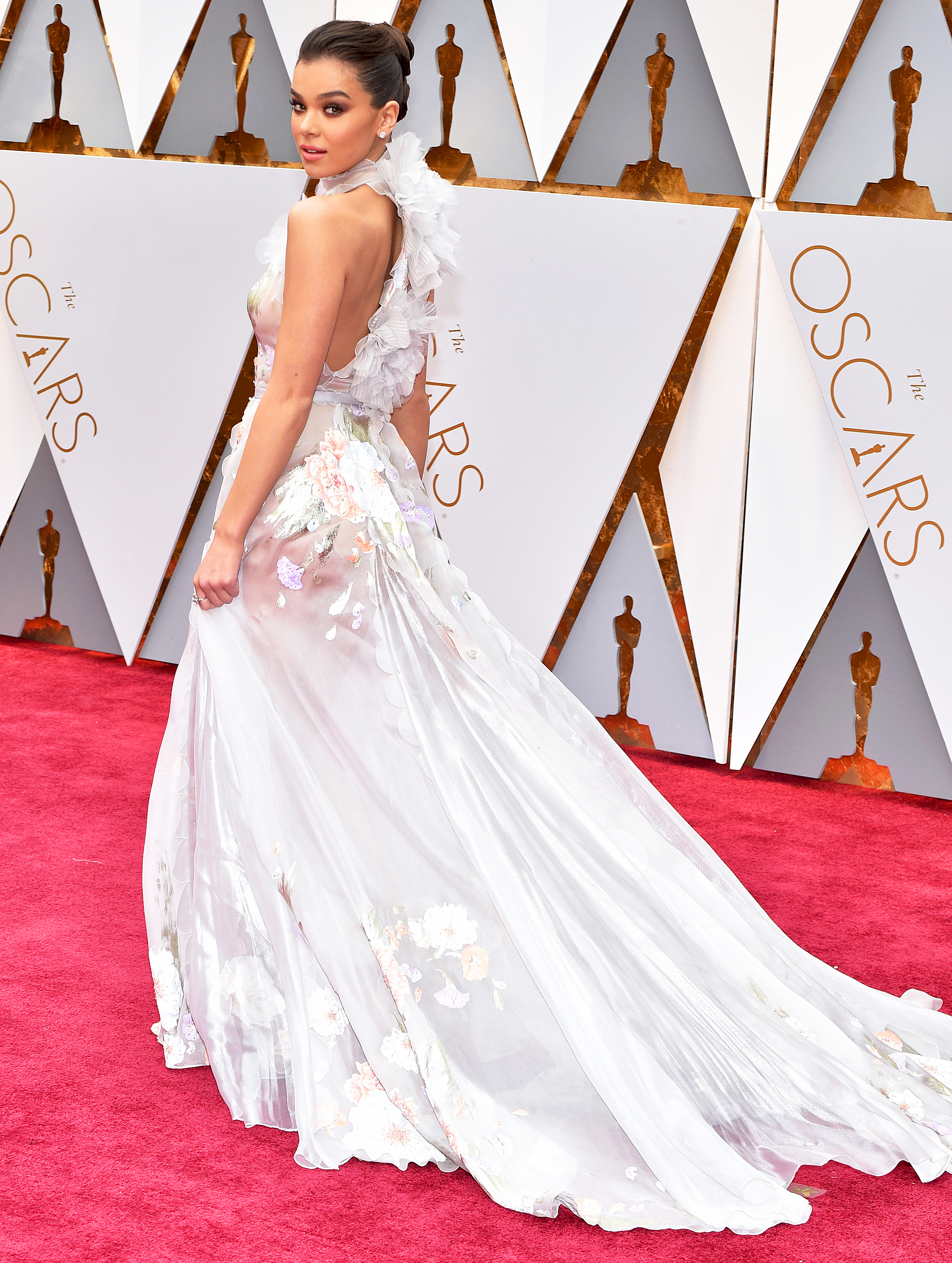 Celebrity Hand Painted Dresses
