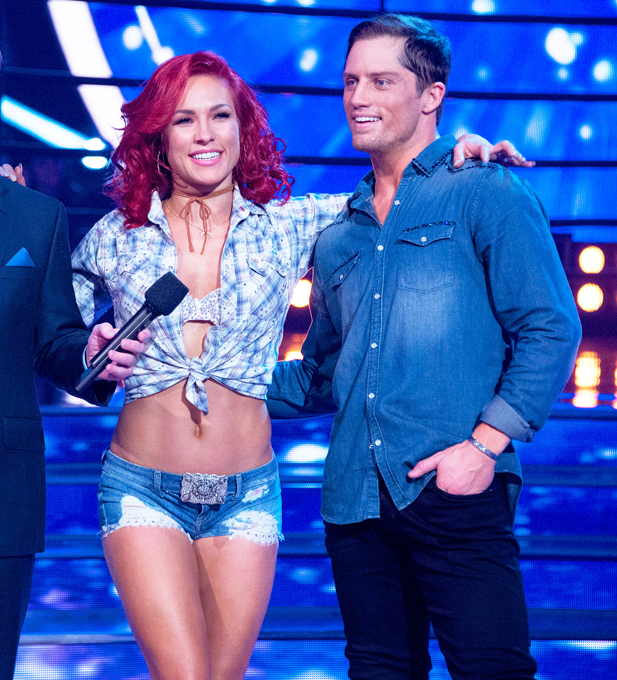 Sharna Burgess and Bonner Bolton